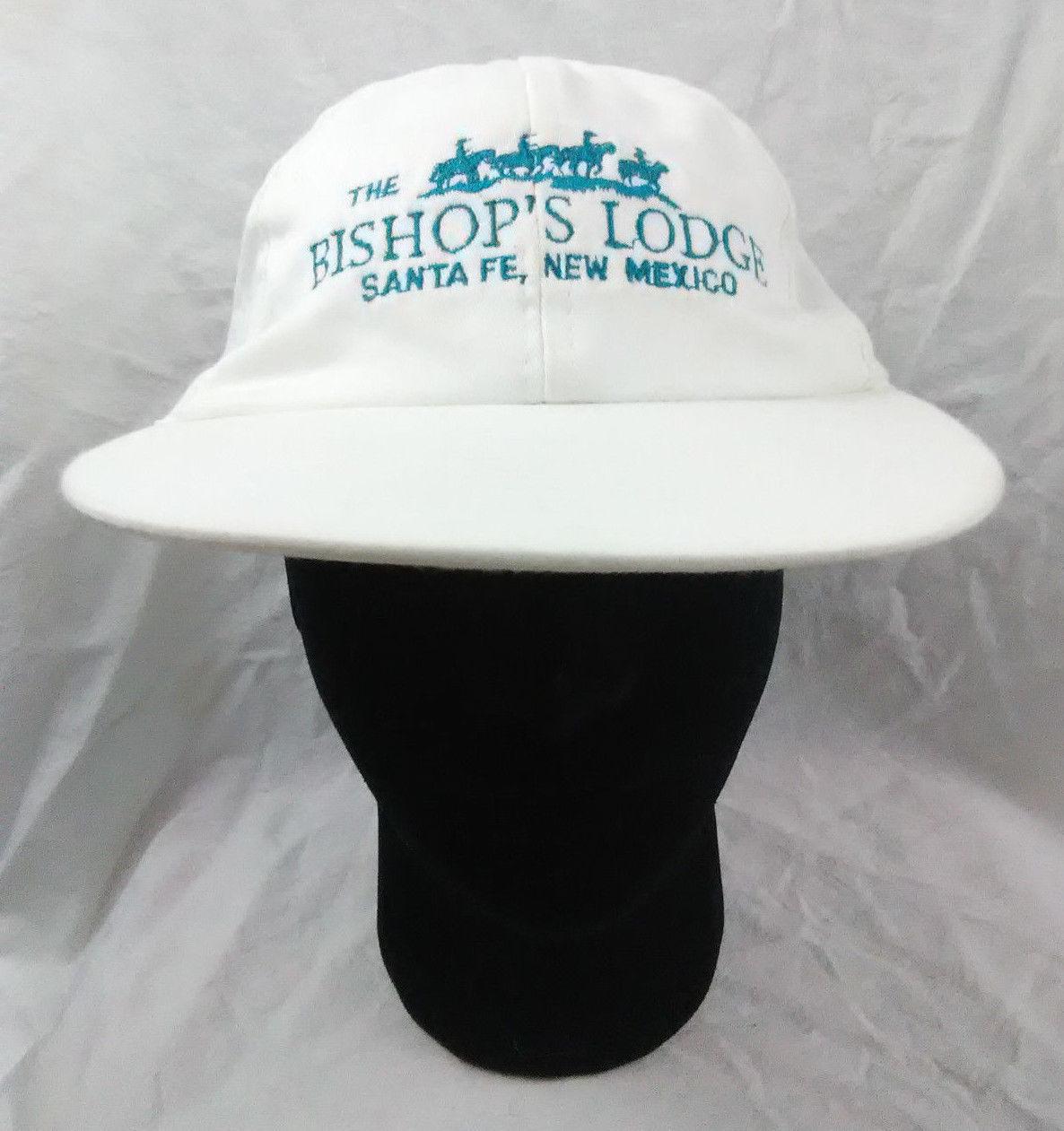 Bishops Lodge Santa Fe New Mexico Adult Elasticback Adjustable Hat Ball Cap Vtg