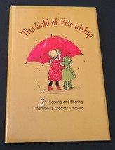 Vtg The Gold Of Friendship Hallmark Book 1967 Small Hardcover Friends Gift - $7.91