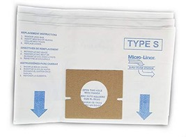 DVC Hoover Style S Micro Allergen Vacuum Cleaner Bags Made in USA [ 63 B... - $41.35