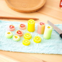 4 pcs/Lot Sliced fruit eraser 2B color Strawberry Lemon Apple pencil era... - $31.65