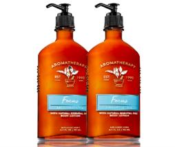 Bath & Body Works Aromatherapy Focus - Eucalyptus & Tea Body Lotion Duo Set - $28.37