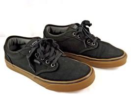 VANS Men's Shoes Authentic Pro Black Classic Gum Canvas Lace Up Sz 9.0 - $15.00