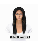 """JK TRADING IRIS FRONT AND BACK LACE 100% REMY HUMAN HAIR WIG """"SISTER 16 ... - $189.99"""
