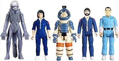 Alien Super 7 ReAction Ripley, Dallas, Kane, Ash and Alien Action Figure 5-Pack
