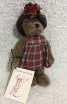 Boyds Bears Lizzie Wishkabibble With Book Retired Tags Attached 50002 - $16.78