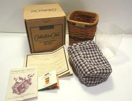 Longaberger JW Collection Miniature 1997 Edition Waste Basket ~ NIB - $39.55