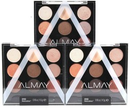 3 Count Almay 010 Naturalista Palette Pops Eyeshadow Mix & Match Use Wet Or Dry - $29.99