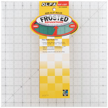 "OLFA Frosted Advantage Non-Slip Ruler ""The Standard""-12-1/2""X12-1/2"" - $44.74"