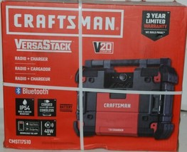 Crafstman CMST17510 Versa Stack Radio and Charger with Blue Tooth Corded image 1