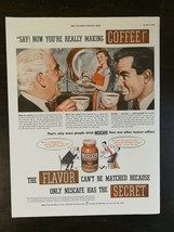 Vintage 1947 Nescafe Coffee Full Page Original Color AD A1 - $6.64
