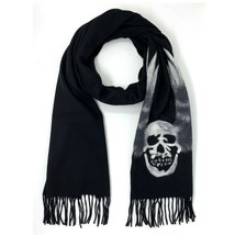 John Varvatos Star USA Men's Skull Wings Graphic Fashion Scarf Merino Wo... - $128.12