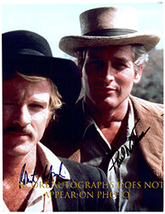 BUTCH CASSIDY & SUNDANCE KID- NEWMAN & REDFORD Signed Autographed Photo ... - $385.00