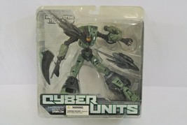 Cyber Units Infiltrator Unit 001 Action Figure 2005 McFarlane Toys Ages 5+ NIP - $28.84