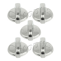 5 Pack WB03T10284 Fits GE Range Oven Knob Stainless Steel AP4346312 PS2321076 - $13.90