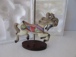 Franklin Mint Treasury Of Carousel Art Jumper Horse Mint William Manns - $9.85