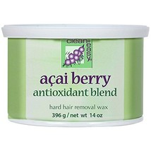 Clean + Easy Acai Berry Hard Wax 14 oz