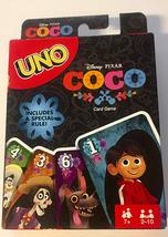 new disney pixar coco uno card game full color special rule edition - $31.81
