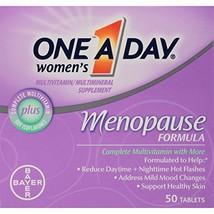 One-A-Day Women's Menopause Formula Multivitamin, 50-tablet Bottle