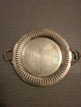 Vintage Essay Silver Serving Tray E.P. Copper - $42.74