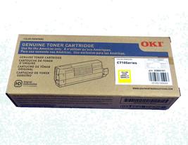 Genuine OKI Okidata C710 43866101 Yellow Toner Cartridge High Yield new ... - $127.12