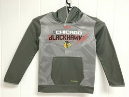 Chicago Blackhawks Reebok center ice hoodie youth kids size Small 8-10 - $14.54