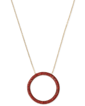 Michael Kors Open Circle Pendant Necklace NWT - $43.47