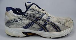 Asics Gel Strike v 2 Size US 14 M (D) EU 49 Men's Running Shoes White Blue T9D4N