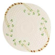 Belleek Group 0008 Shamrock Bread Plate, 11.25-Inch, White - $58.27