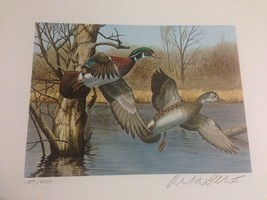 1983 New Hampshire First of State S/N Duck Stamp Print + Mint Stamp - $220.00