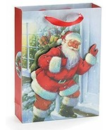 Burton and Burton 9731373 Small Santa Gift Bag, Multicolor - $39.99