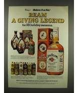 1976 Jim Beam Bourbon Whiskey Ad - Giving Legend - $14.99