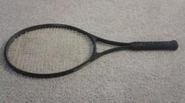 "Prince Aerodynamic Pro 110 tennis racquet (4 1/2"" grip) - $23.76"