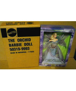 The Orchid Barbie NRFB 2001 Flowers in Fashion collection NRFB with SHIPPER - $125.00