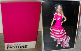 Pink In PANTONE Barbie Doll Pop Culture NRFB - $109.99