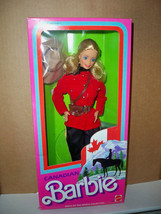 1987 Vintage Canadian Mountie Barbie dolls of the World NRFB #4928 - $45.00