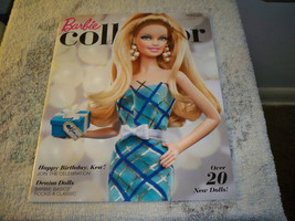 The Barbie Collector Collection Catalog Spring 2011 Happy Birthday Ken Cover - $7.99
