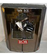 1996 Cruella De Vil Great Villains Collection Barbie NRFB Power in Pinst... - $49.99
