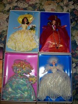 Enchanted Seasons collection 4 dolls NRFB Summer, Autumn, Spring and Sno... - $150.00