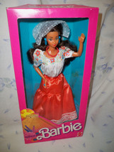 Mexican Barbie Doll 1st Edition #1917 Mattel 1988 NRFB - $49.99