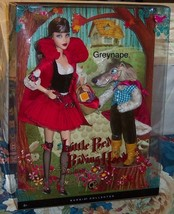 Little Red Riding Hood and the Wolf Barbie Giftset NRFB Mattel - $149.99