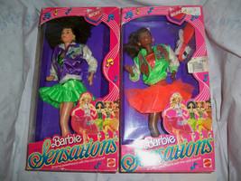 Belinda and Becky Barbie Sensations 1987 Mattel #4976, #4977 please read - $69.99
