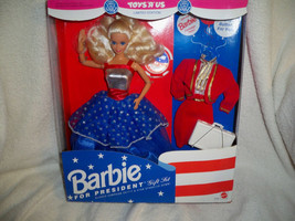 ToysRUs Barbie Doll for President Classic Campaign outfit & Star Spangle... - $49.99
