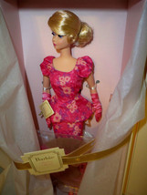 2015 Silkstone Fashionably Floral Barbie Doll NRFB Mattel - $125.00