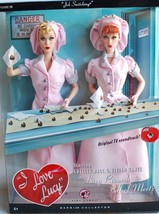 "NRFB I Love Lucy Dolls ""Job Switching"" Chocolate Factory NRFB Ethel and ... - $99.99"