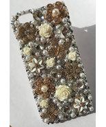 Unique iPhone 6s Plus Case Swarovski iPhone 6s Ivory Flowers Wedding Pho... - $25.00