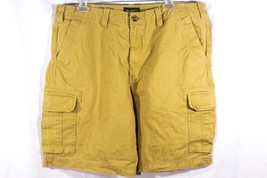 Eddie Bauer Mens Khaki Cargo Shorts 40 - $17.12