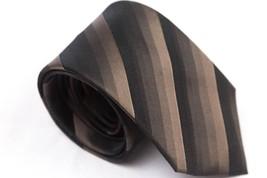 KENNETH COLE REACTION Mens Black Silk Striped C... - $10.35