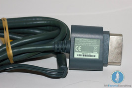 XBOX 360 - OFFICIAL Audio Video AV Cable Microsoft GREY (Composite A/V) - $8.99