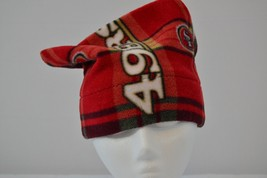 San Francisco 49ers Handmade Fleece Beanie - $10.55