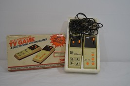 Vintage Tele-Action Mini TV Game 4 Electronic Action Games DMS Untested ... - $61.99